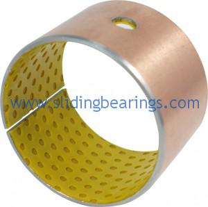 Bronze plated SF-2 dx bushing