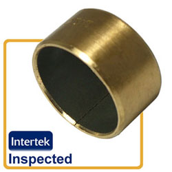 DU-B bronze backing sleeve bushing