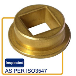 Square flange sintered bronze bushing,square bushing,volume control damper bushing